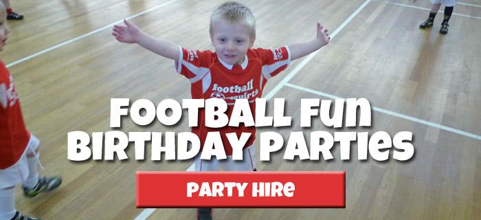 Football Birthday Party Hire