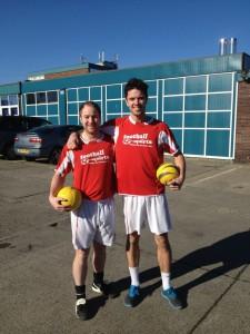 Coach Matt and Anthony